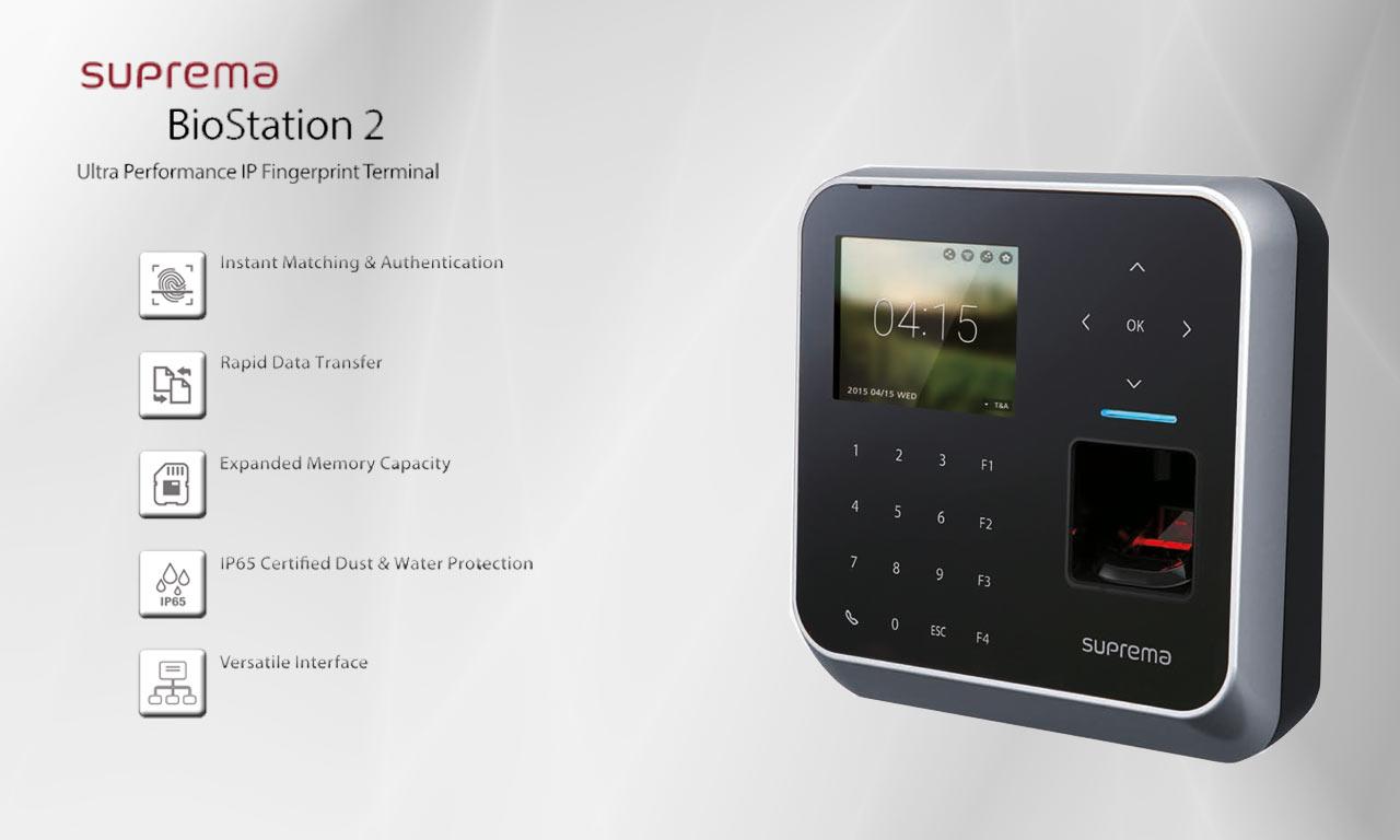 دستگاه حضور و غیاب Biostation 2