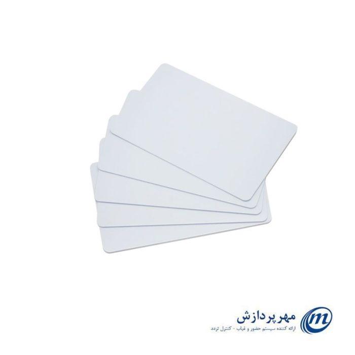 کارت RFID جهت دستگاه حضور و غیاب