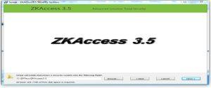 آموزش نرم افزار دستگاه کنترل تردد ZK