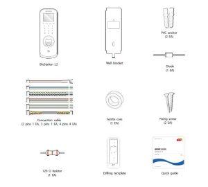 دستگاه حضور و غیاب کنترل تردد Biostation L2
