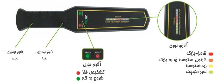 راکت بازرسی فلزیاب موبایل یاب