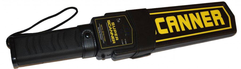 راکت بازرسی بدنی super scanner